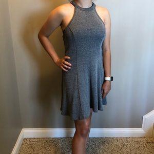 Hollister ribbed skater dress